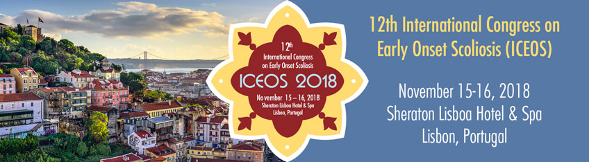 ICEOS 2018: 12th Annual International Congress on Early Onset Scoliosis and Growing Spine